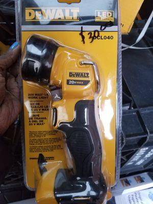 dewalt 20v work light for Sale in Detroit, MI