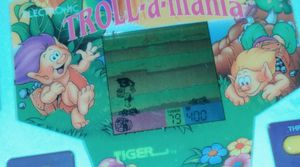 """1994 Tiger Electronics Handheld Game """"TrollAMania"""" Still works perfectly for Sale in Cleveland, OH"""
