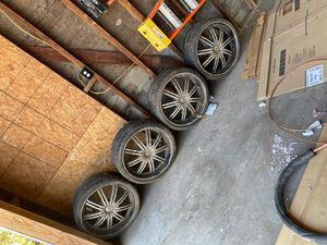 Rims and tires for Sale in Bloomington, CA