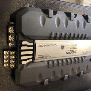 Ken wood 400W Maximum Power Amplifier for Sale in Phoenix, AZ