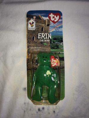 Erin the Bear Collectible Beanie Baby for Sale in Woodbridge, VA