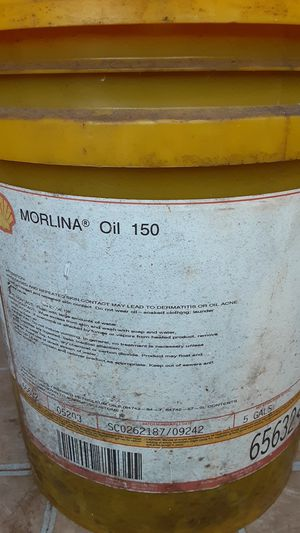 Shell morlina oil 150 for Sale in Avella, PA