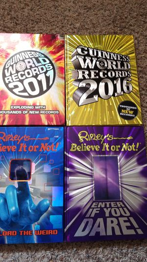 WORLD RECORD BOOKS for Sale in Oshkosh, WI