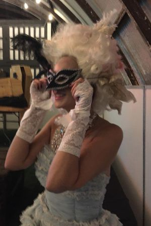 Marie Antoinette Halloween Costume, Wig, & Shoes for Sale in North Hollywood, CA