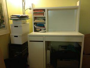 White desk for Sale in Falls Church, VA
