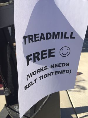 FREE WORKING TREADMILL-Come get it today! for Sale in West Hills, CA