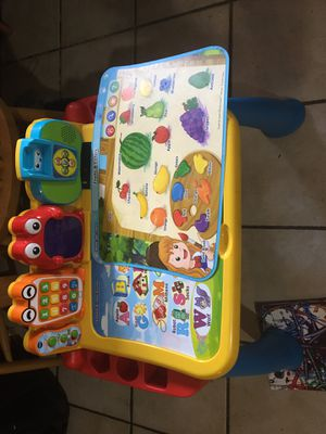 Vtech Touch and learn activity desk for Sale in Tempe, AZ