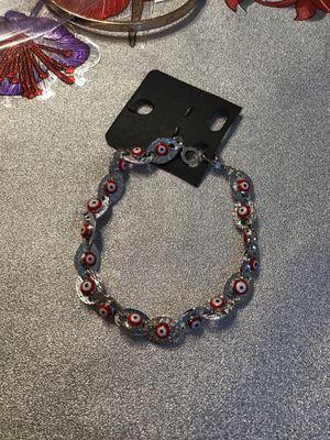 18k evil eye bracelet for Sale in Marietta, GA