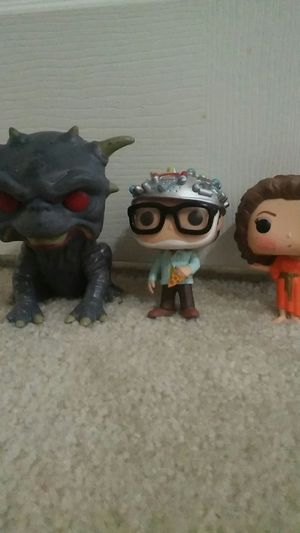 Funko Pop! Ghostbusters 3 pack the gate keeper, Zuul, and the key master for Sale in Phoenix, AZ
