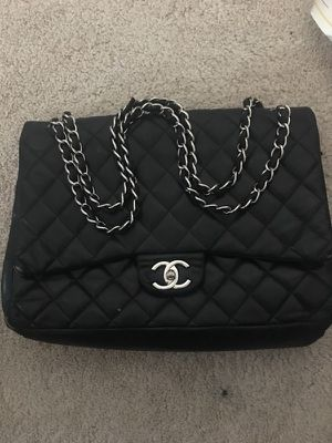 Women's Black Chanel Chain Shoulder Bag for Sale in Bowie, MD
