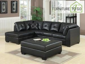 New sectional with ottoman for Sale in Dallas, TX