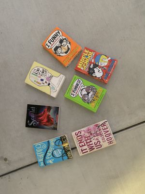 📚📖Seven books ages seven and up 📖 📚 for Sale in Modesto, CA