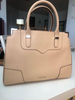 Tan structured Rebecca Minkoff handbag for Sale in Las Vegas, NV