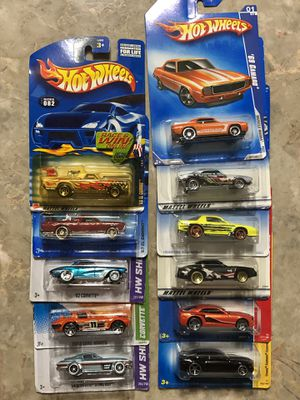 Used, Hot Wheels Chevrolet Camaro Corvette El Camino Lot —————> See our Different DIE-CASTS 💥 OPEN TO TRADES for Sale for sale  Kissimmee, FL