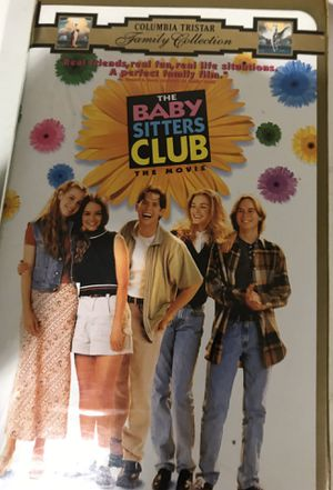 The Babysitter's Club Movie VHS for Sale in Wildomar, CA