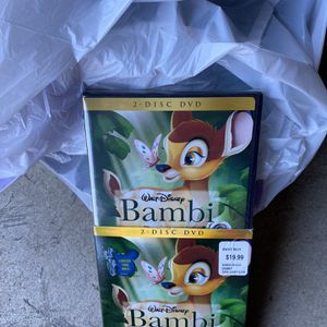 Disney Bambi DVD for Sale in Riverside, CA
