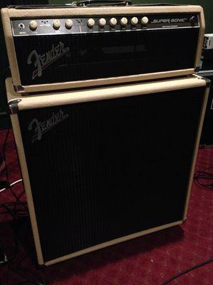 Fender Super Sonic 60 watt amplifier for Sale in Newark, CA