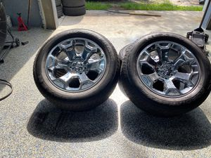 Dodge Ram Wheels And Tires 275/55R20 BP:6x139.7 for Sale in Tampa, FL