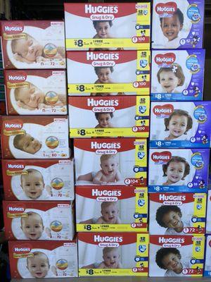 Huggies box or packs for Sale in Lehigh Acres, FL