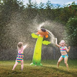 5 feet Tall Spinning Inflatable Sunflower Water Sprinker. Hours of fun for kids.New in pack. for Sale in Aurora, IL