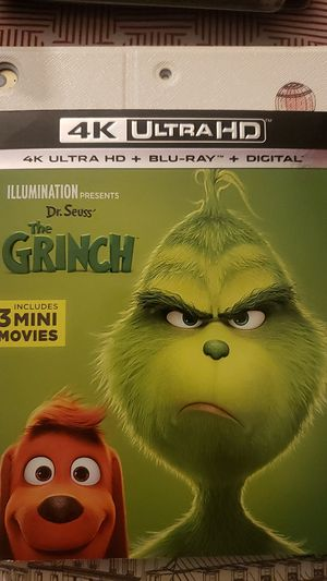 4k The Grinch no digital code for Sale in San Fernando, CA