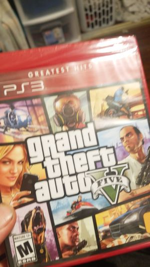 Grand theft 5 ps3 never opened for Sale in San Diego, CA