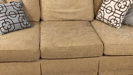 """Pair of Clayton Marcus Sofas (8'6"""" X 46"""" Deep) for Sale in Brentwood,  TN"""