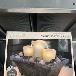 Candle Fountain for Sale in Ontario, CA