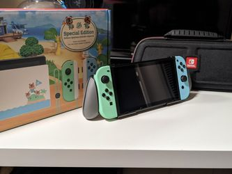 Nintendo Switch Animal Crossing for Sale in Federal Way,  WA