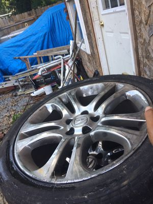 Acura 4 sets tires and rims for Sale in Capitol Heights, MD
