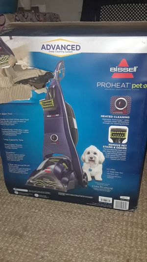 Bissell proheat pet heated cleaning for Sale in San Bernardino, CA