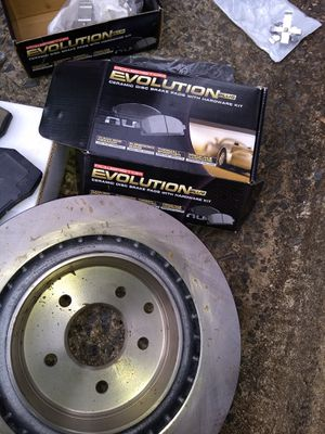 Rear Rotor, and all brakes front and back for Sale in Durham, NC