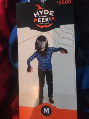 Kid's Midnight Werewolf Costume. NEW. Child's Size Medium (8-10) for Sale in Phoenix, AZ