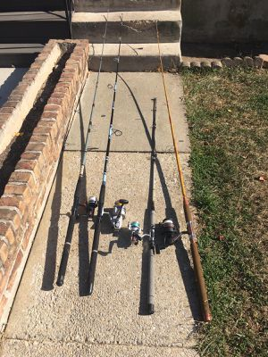 Fishing rods for Sale in Jessup, MD