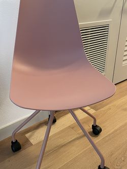 Article Blush Pink Rolling Desk Chair for Sale in Los Angeles,  CA