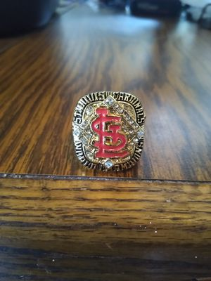 St Louis Cardinals Championship Ring for Sale in BRECKNRDG HLS, MO