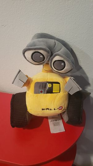 Limited edition mini wall-e plushie / stuffed animal DISNEY PIXAR for Sale in Los Angeles, CA