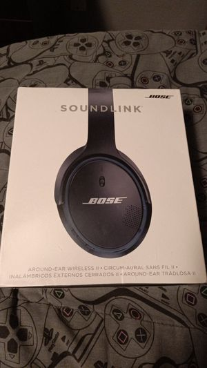 Bose SoundLink wireless headphones/headsets for Sale in South Dos Palos, CA