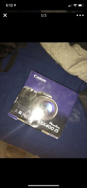 Canon point and shoot camera for Sale in HUNTINGTN STA, NY
