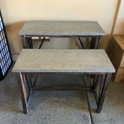 """Brand New Nesting Accent Tables Set of 2 (Large: 42""""x18""""x30"""" Small: 36""""x15""""x26"""") 👉🏻 Please Read Description 👀 for Sale in North Las Vegas,  NV"""