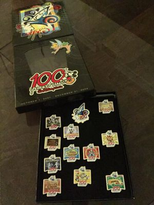 Disney 100 Years of Magic Press Event Pin Collection for Sale in Atlanta, GA