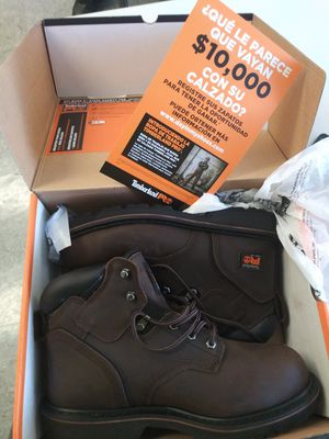 Timberland steel toe work boots 8.5 for Sale in Los Angeles, CA