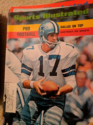 1968 sports illustrated Don Meredith for Sale in Corinth, ME