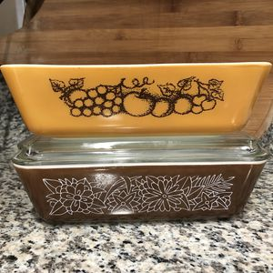 3-Piece Pyrex Refrigerator Dishes for Sale in Las Vegas, NV