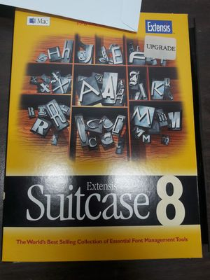 Extensis Suitcase 8 for Sale in Los Angeles, CA