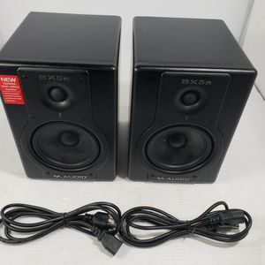 M-Audio Studiophile BX5a Deluxe Studio Reference Monitor Speakers ●●TESTED●● for Sale in Downey, CA