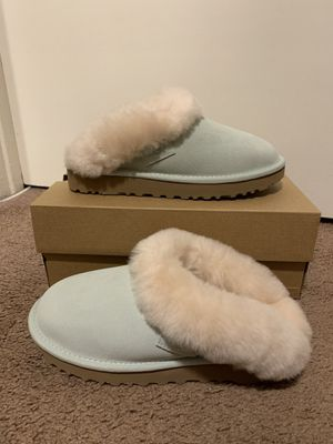 100% Authentic Brand New in Box UGG Cluggette Slippers / Color: RMN / Women size 5, 6, 7, 8, 9, 10, 11 for Sale in Walnut Creek, CA