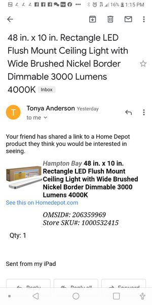 Led flush lights 4000k dimmable 29 boxes for Sale in Atlanta, GA