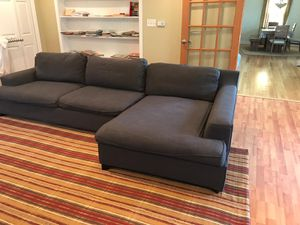 Sofa sectional with chase for Sale in Elmhurst, IL