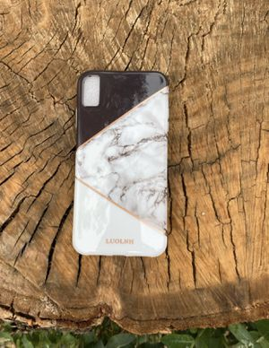 iPhone XS Max marble glossy case for Sale in San Fernando, CA